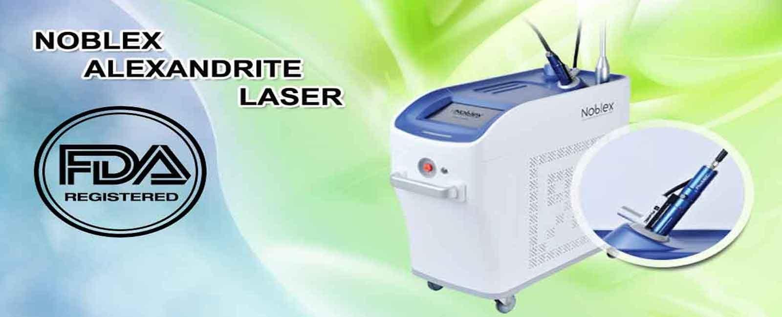 خرید و فروش دستگاه لیزر الکساندرایت Alexandrite Laser Noblex