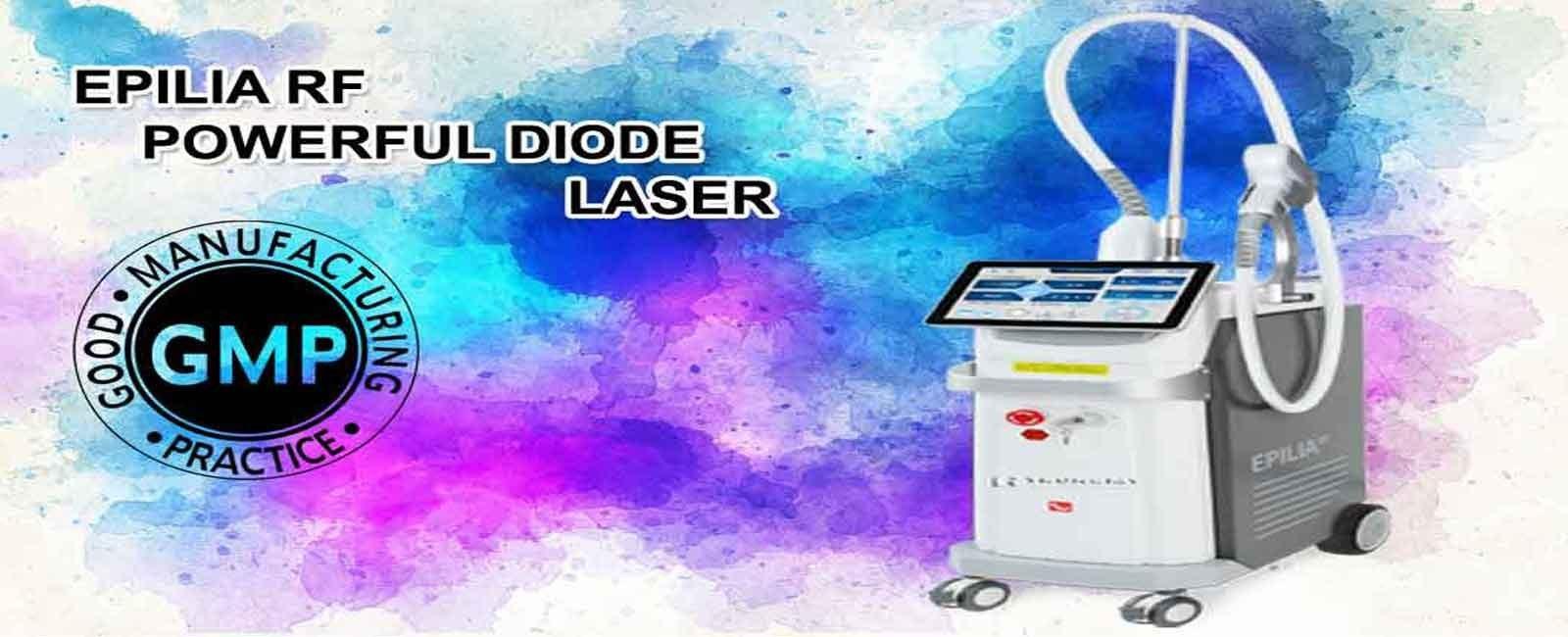 خرید و فروش دستگاه لیزر دایود اپیلیا Epilia RF Diode Laser